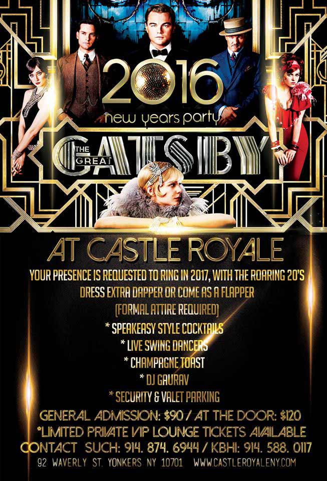 The Great Gatsby NYE Party