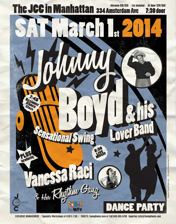 Johnny Boyd and Vanessa Raci March 2014 Swing Remix