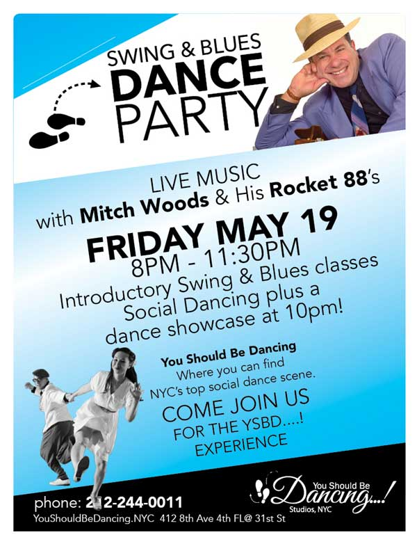 Swing & Blues with Mitch Woods
