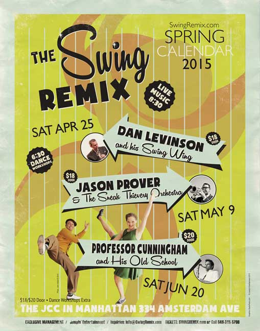 Swing Remix Spring Season 2015
