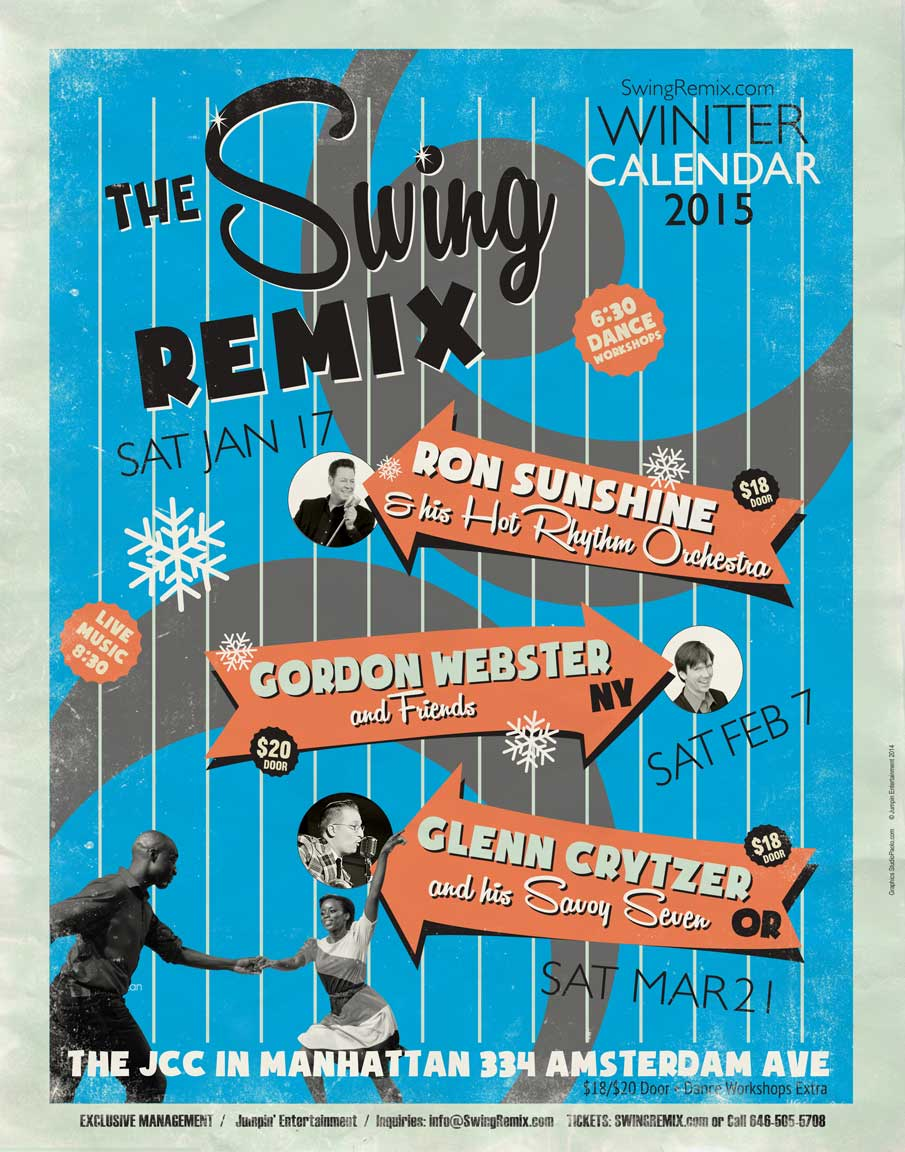 Swing Remix Winter 2015 Calendar