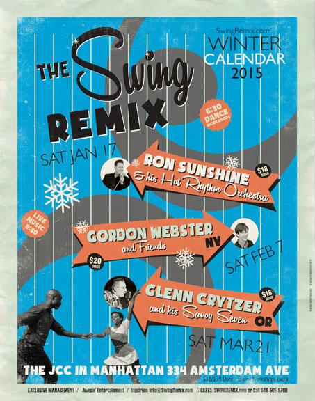 Winter Calendar  2015 Swing Remix