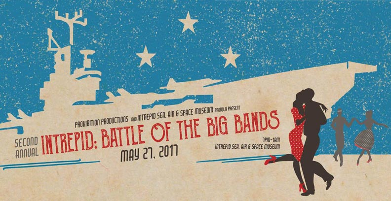 The INTREPID battle of the big bands 2017