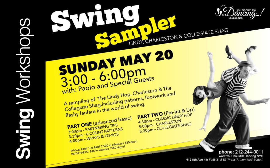 Swing Sampler workshop