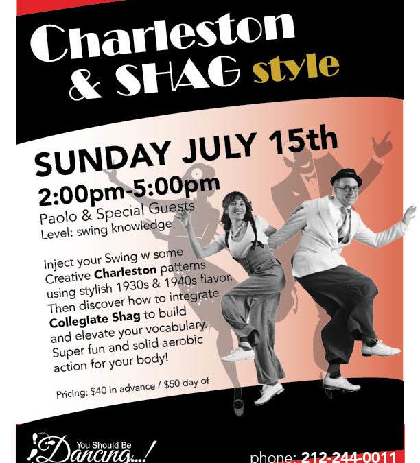 Charleston & Shag workshop