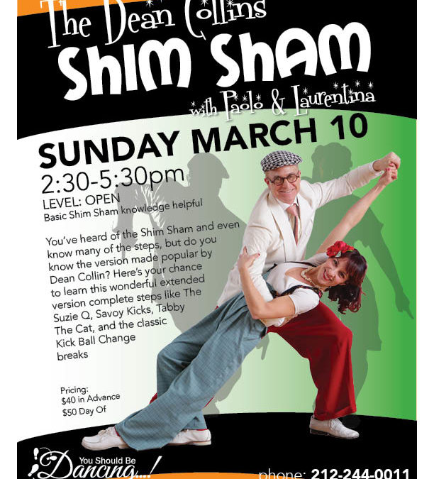Dean Collin's Shim Sham dance workshop
