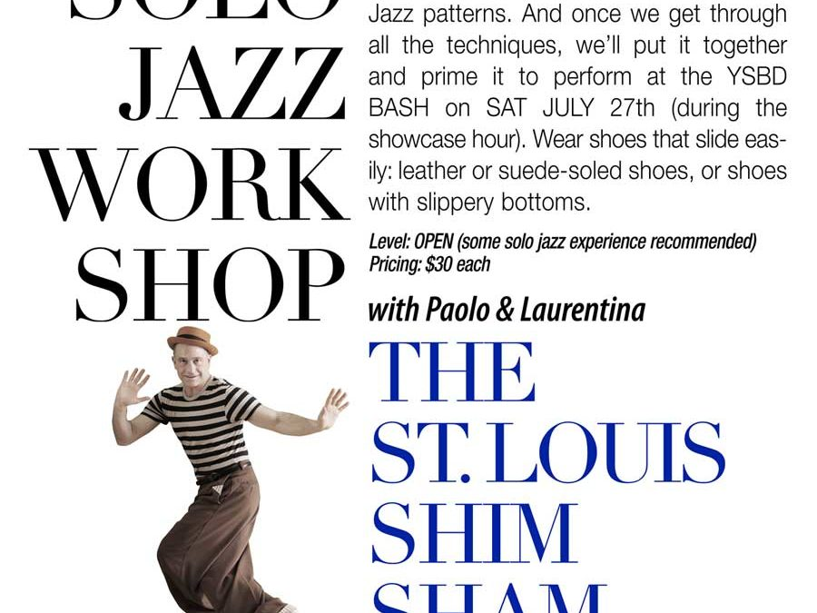 St Louis Shim Sham workshop