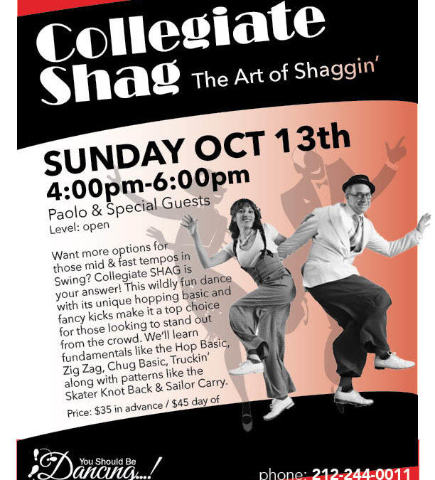Collegiate Shag Workshop | The Art of Shaggin'