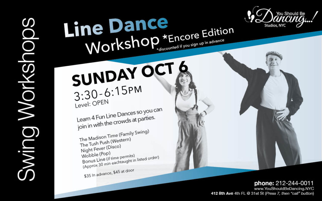LINE DANCE Workshop at YSBD